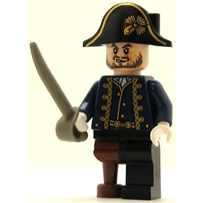 LEGO Pirates of the Caribbean Minifig Hector Barbossa with Pegleg: Toys & Games