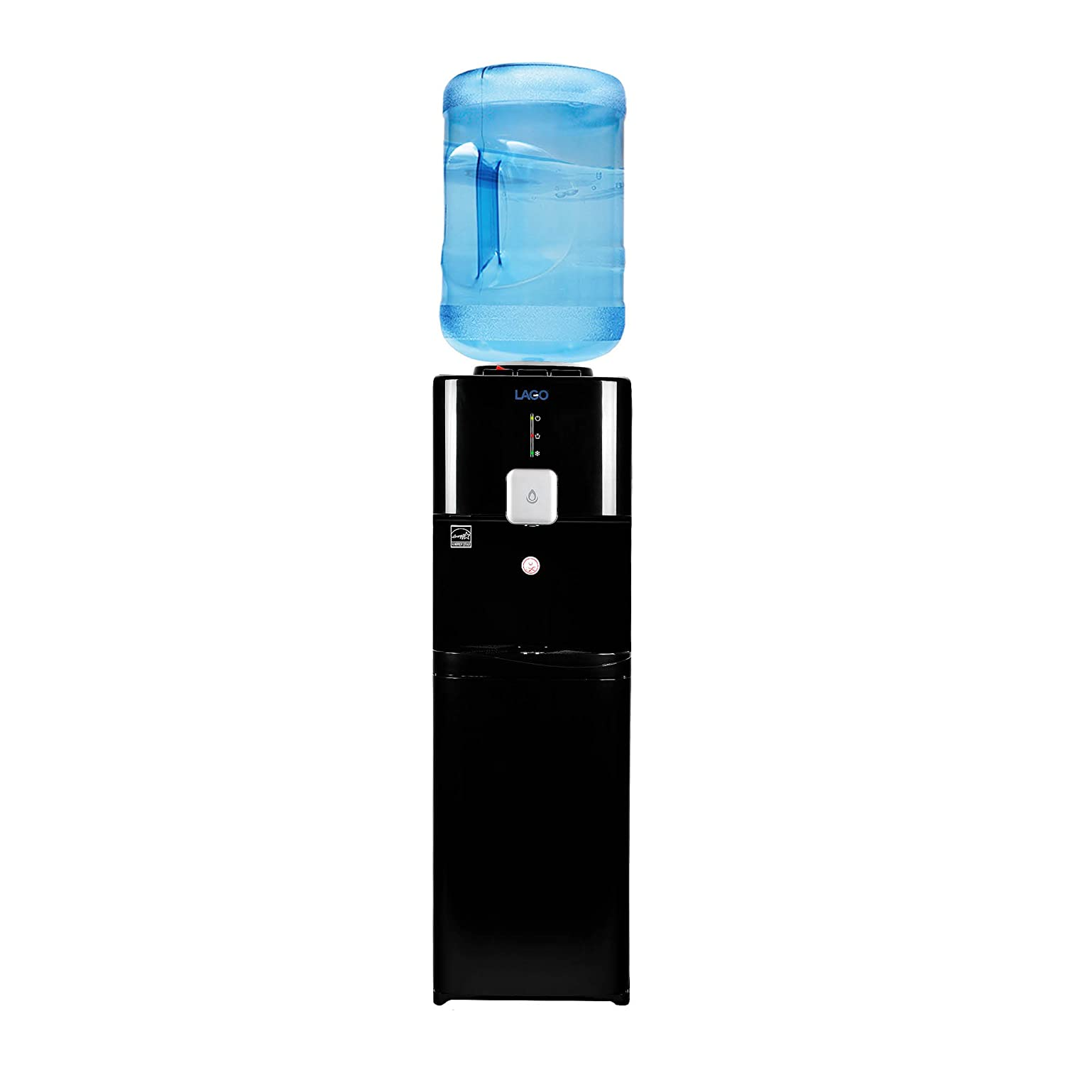 Amazon.com: Lago Top Load Hot, Cold & Room Black Water Cooler Dispenser: Kitchen & Dining