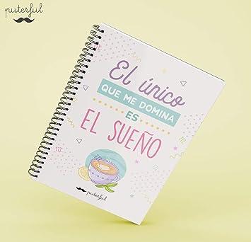 Puterful Cuaderno A4 El único Que me domina mr: Amazon.es ...