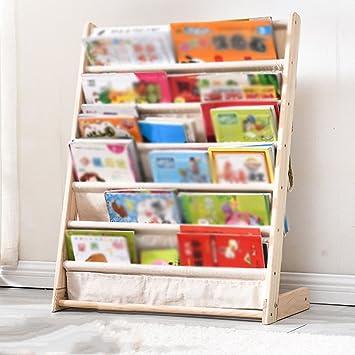 Amazon.com: Estantería de madera QIANGDA para libros ...