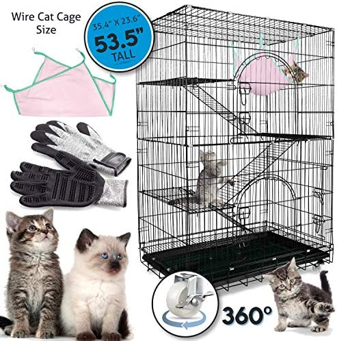 Petsmatig Pro is the best Cat Cage? Our review at cattime.com uncovers all pros and cons.