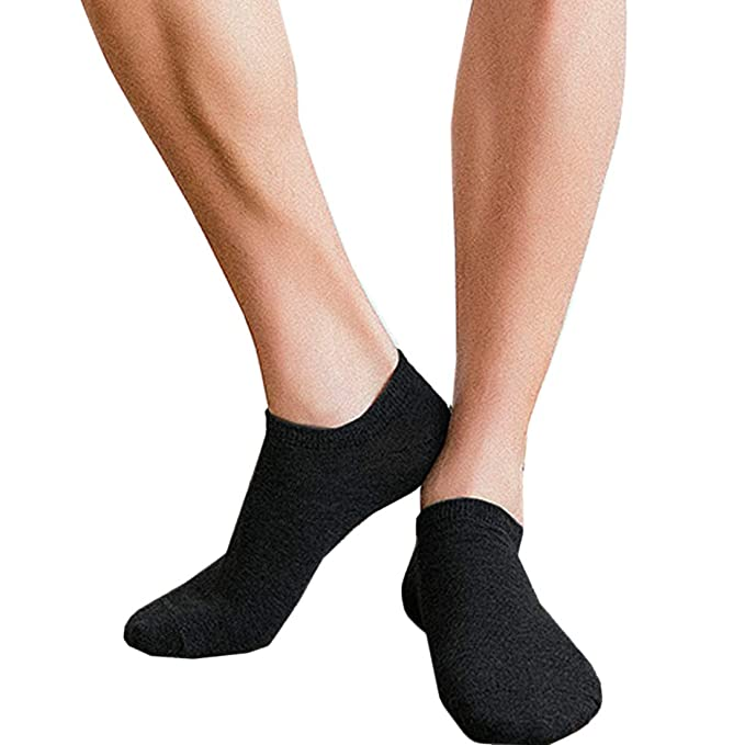 aab72f442383 Mens Ankle Socks, 6 Pack Cotton Wear-resistant No-show Thin Cotton Socks