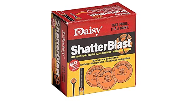 Daisy Shatterblast Target Stakes and Breakable Target Disks Great for the kids!