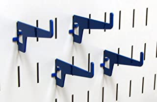 product image for Wall Control Pegboard 2-7/8in Long Reach Slotted Hook Pack - Slotted Metal Pegboard Hooks for Wall Control Pegboard and Slotted Tool Board – Blue