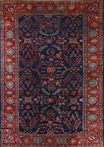 Rug Source Pre-1900 Antique 10x14 Sultanabad Handmade Persian Area Rug (13' 8'' X 9' 7'')