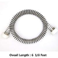 CRESTWALKER 6 1/8 Feet Stainless Steel Zip Line Spring Brake