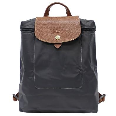 27d87def61fb Amazon | LONGCHAMP ロンシャン Le Pliage Backpack ル・プリアージュ バックパック/リュック リュックサック  デイパック バッグ レディース 1699-089 (Ganmetal) ...