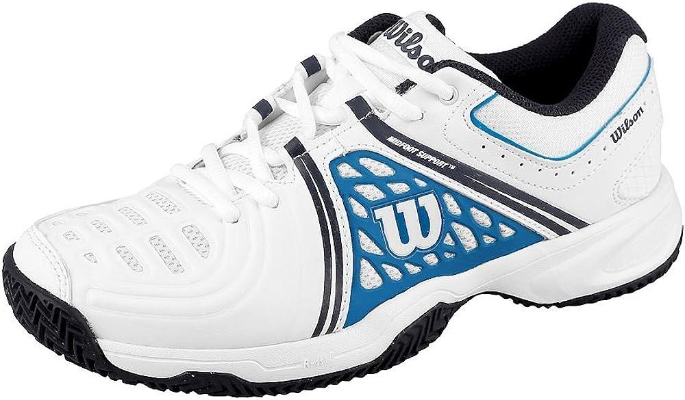 Wilson TOUR VISION V, Zapatillas de tenis hombre, todos los niveles y terrenos, , tejido/sintético, blanco