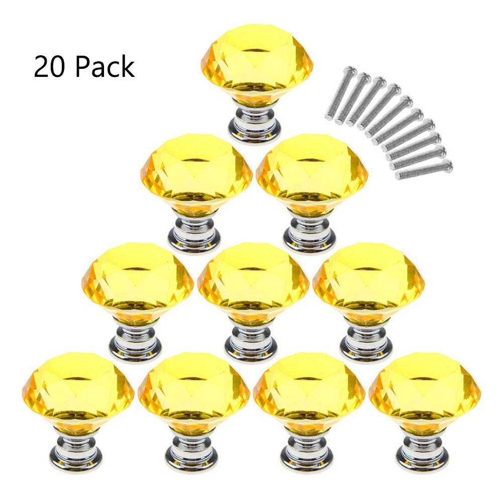 20 Tiradores - Simil Cristal (1M70XNYZ)