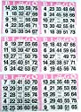 6onピンクBingoペーパーカード–500シート–3000カードby Americanゲーム