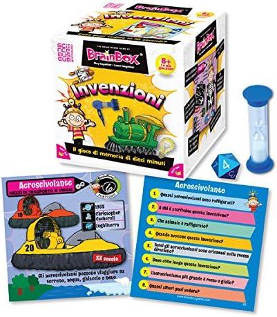 Brain Box Juego de Memoria Inventos, en Italiano, Multicolor (31690016A): Amazon.es: Juguetes y juegos