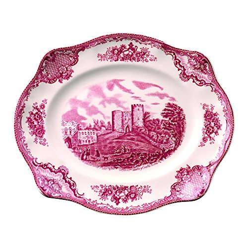 Brothers Johnson Castle - Johnson Brothers Old Britain Castles Pink 12-Inch Platter
