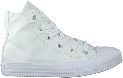 da3a7c9e347e94 Weisse Converse Sneaker CTAS HI KIDS - 27  Amazon.de  Schuhe ...