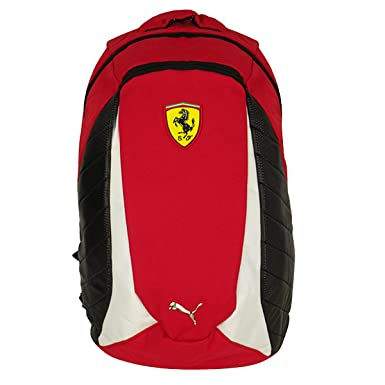 Puma Ferrari Replica School Rucksack Backpack Shoulder Large SF Scuderia Bag   Amazon.co.uk  Clothing 9dc430d68c7ce