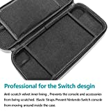 Nintendo Switch Case Protective Carrying Storage Bag with 8 Game Cartridge Holders