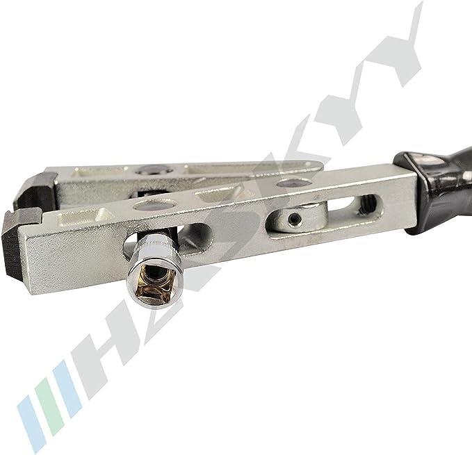 3//8 trazione per chiave dinamometrica casz-14 Pinza per assale maniche FASCETTA PER dinamometrica PINZE MORSETTO Polsino con 10