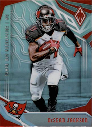 amazon com 2018 phoenix nfl 94 desean jackson tampa bay buccaneers official panini football card collectibles fine art 2018 phoenix nfl 94 desean jackson