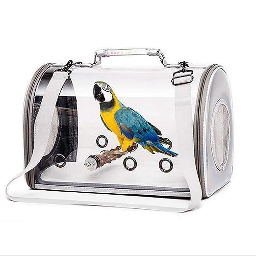 ZNN Jaula para pájaros: Bolsa de Viaje para pájaros portátil ...
