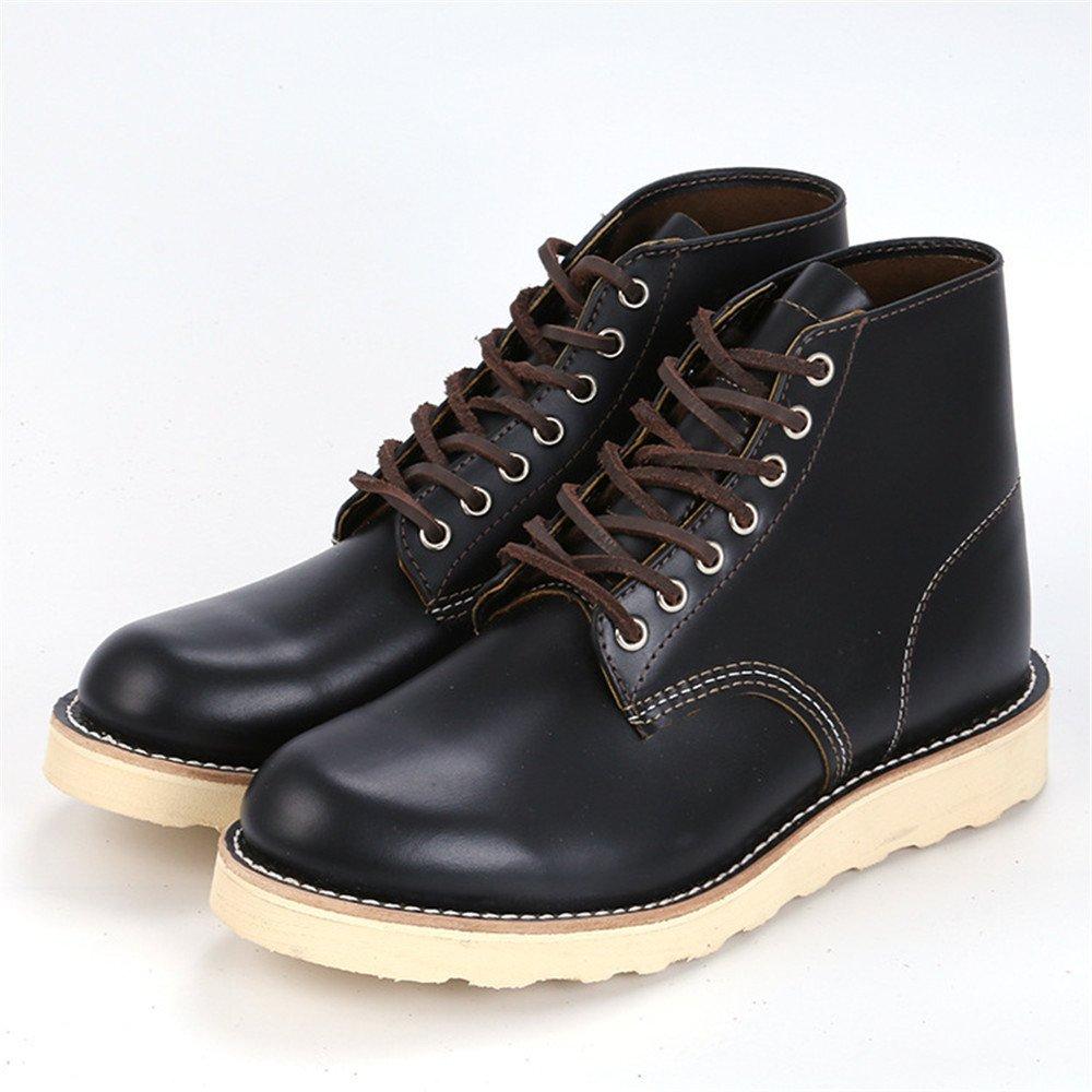 Männer - mode - freizeit - schuhe, stiefel, england und warme stiefel für männer,schwarz,43