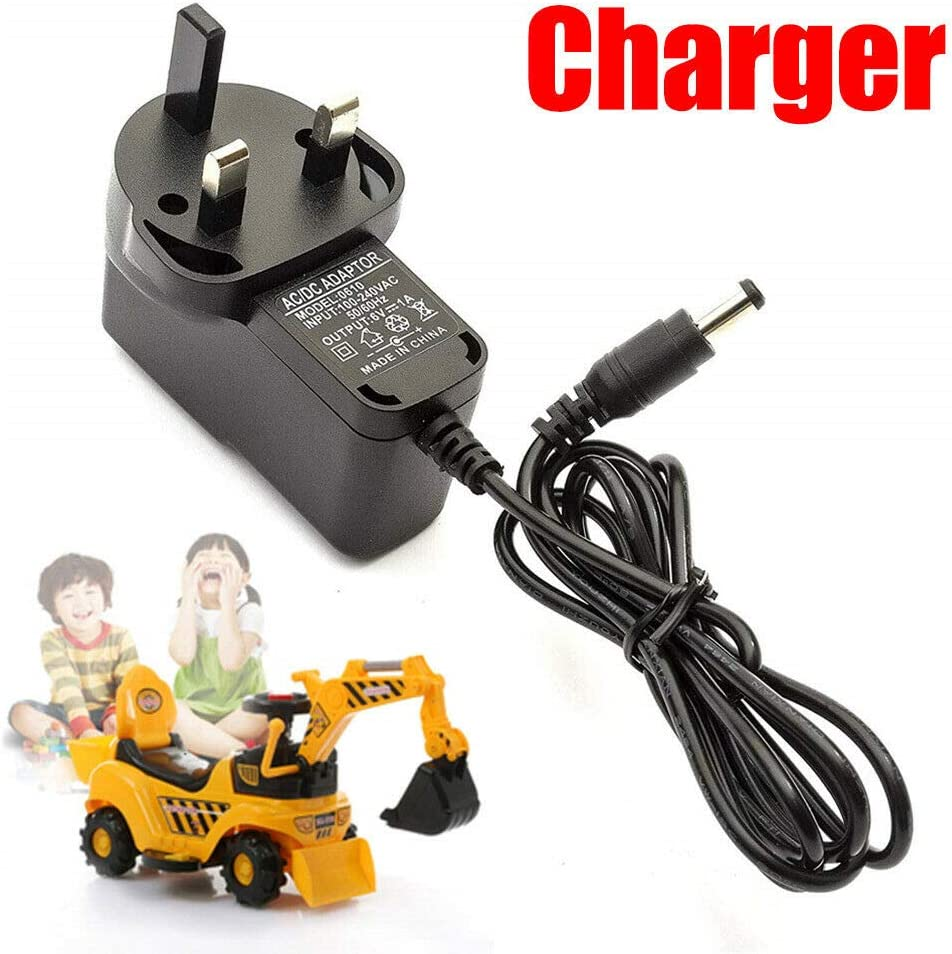 FFFF 6v Battery Charger 6V 1 Amp Plug Universal Kids Electric Ride On Toy Car 2019