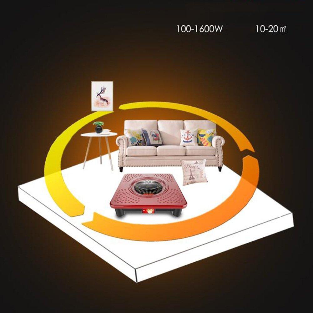 XQ Calentador eléctrico del brasero Estufa de calefacción casera Estufa asada infrarroja lejana Ahorro de energía: Amazon.es: Hogar