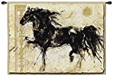 Classic Horse Style Handwoven Wall Hanging Fabric Tapestry Home Decor