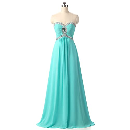 CEZOM Long Prom Dresses Bridesmaid Gown Formal Occasion Party Dress