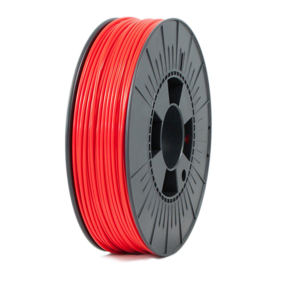 Ice Filaments ICEFIL3PLA010 Filamento PLA, 2,85 mm, 0,75 kg, Rojo