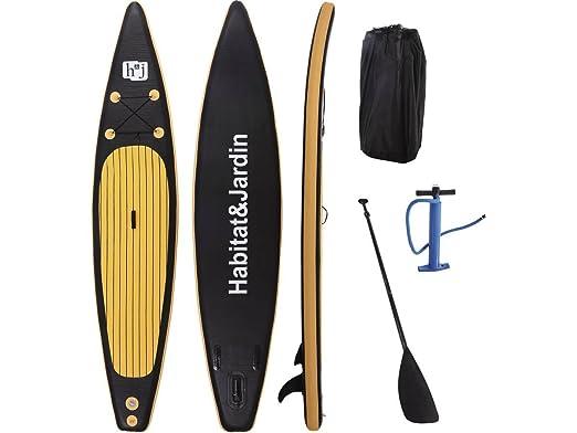 habitatetjardin Paddle Sup Wave Pro - 365 x 78 x 15 cm - Negro ...
