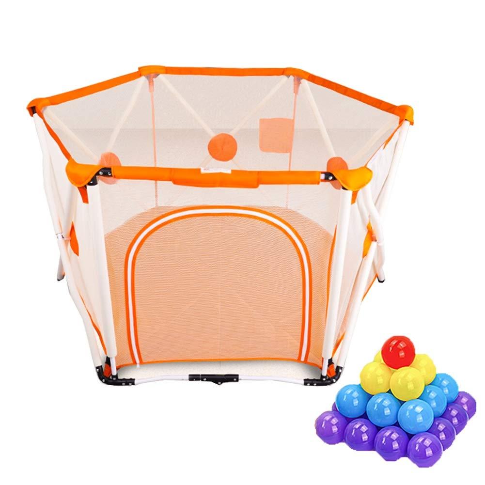 世界有名な 100ボール Orange、屋内屋外の安定した子供の幼児キッズヘビーデューティーフェンス - 82.5×150センチメートル (色 : (色 Orange) Orange Orange) B07KTKJRDG, イー住設 (イー住宅設備):7b4dc7b4 --- a0267596.xsph.ru