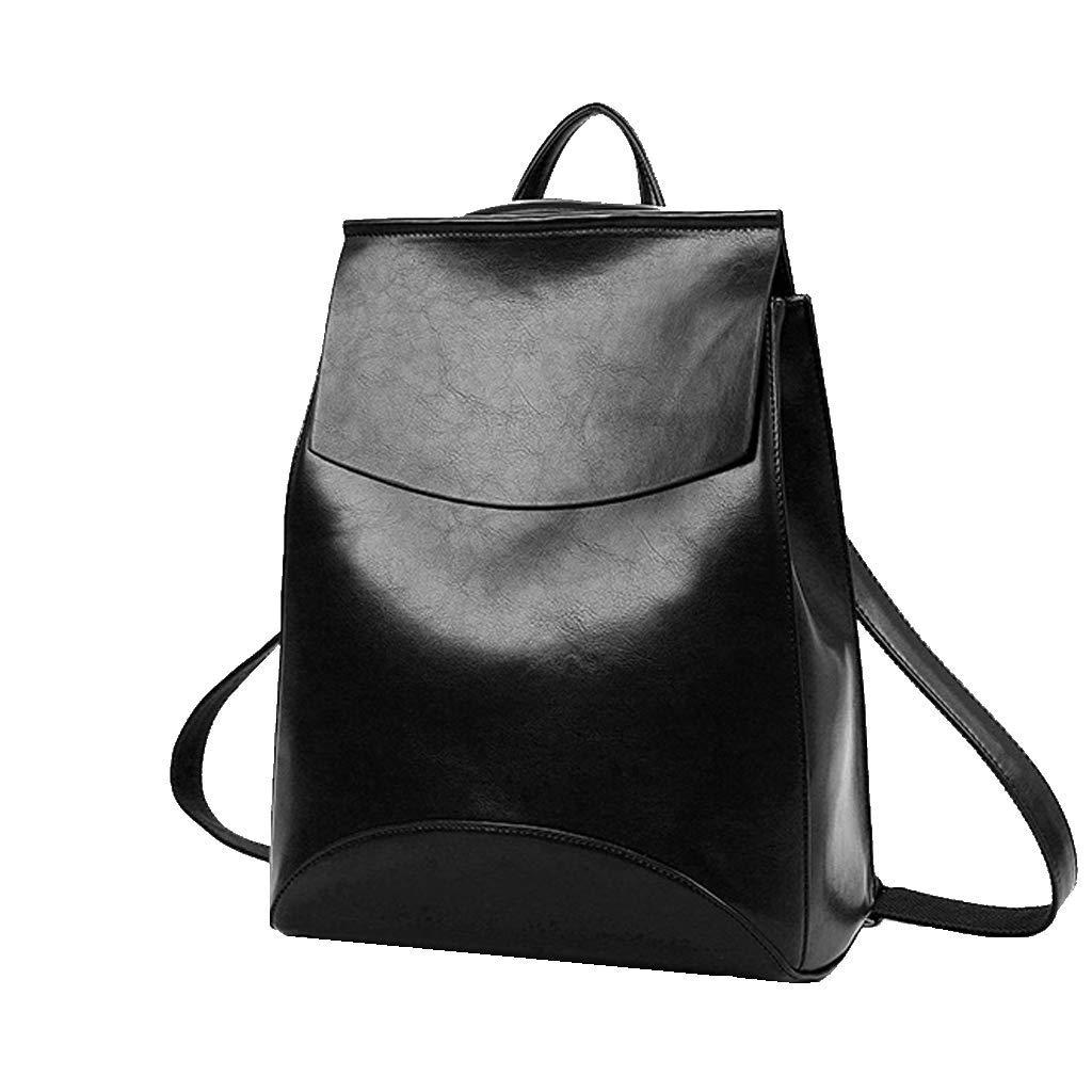 Rucksack 2018 Frau Casual Daypack Handtasche Reisetasche Mode Rucksack Schwarz B07JDH4X2B Daypacks Hohe Qualität und geringer Aufwand