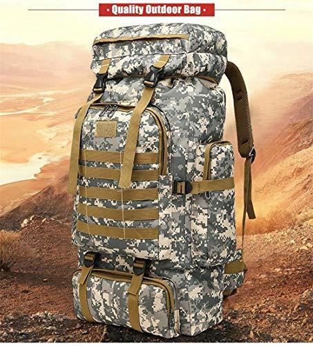 Militaire À Warmheat Trekking 80l Randonnée Sac Dos Camping De 1 Tactique Extérieur zRfBwEqOR