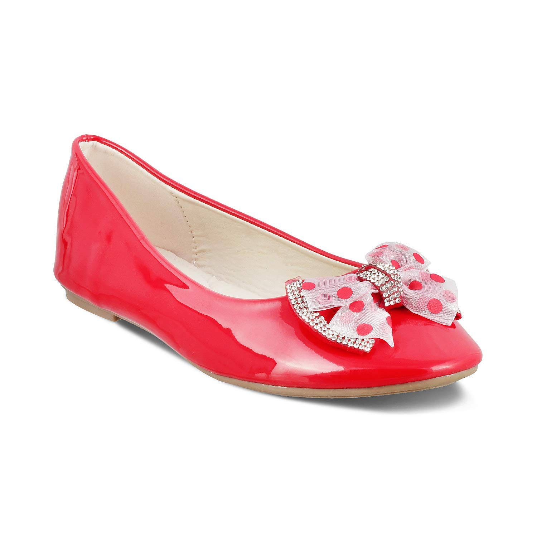 Buy KITTENS Colour Red Ballerina Shoes