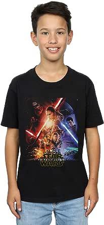 Star Wars niños Force Awakens Poster Camiseta