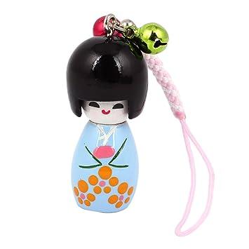 Sourcingmap® Colgante con Adorno de muñeca Japonesa de ...
