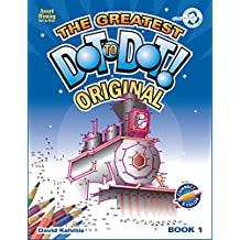 Greatest Dot-to-Dot Book in the World (Book 1) - Summer Travel - Relaxing Puzzles