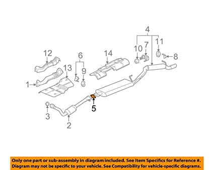 amazon com general motors 10328740 catalytic converter gasket rh amazon com 1995 4L80E Transmission Diagram GM 4L30E Transmission Parts Diagram