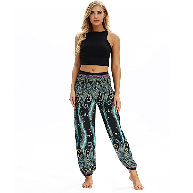 39733ebc11 Men Women Casual Loose Hippy Yoga Trousers Baggy Boho Aladdin Harem Pants  Leggings Shorts for Clothes Best wear Tops Black Pink Outfits Tights Grey  ...