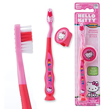 Amazon.com: Hello Kitty Youth Suction Cup Travel - Dental ...