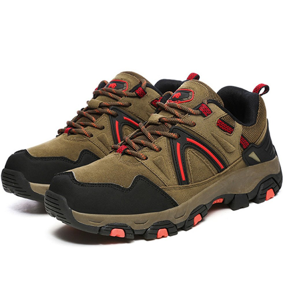 Zapatos De Trekking para Hombre De Gran Altura Zapatos De Trekking Botas De Escalada Resistentes Al Frío Impermeables Resistentes Al Agua Al Aire Libre Antideslizantes,Black-39: Amazon.es: Zapatos y complementos