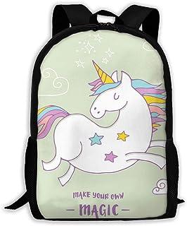 Backpacks Girl's Shoulder Bag Bookbags School Season Magic Unicon Traveling Bags