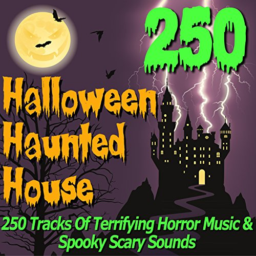 halloween haunted house 250 tracks of terrifying horror music spooky scary sounds