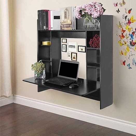Best home office desk: Tengma Floating Desk Wall Mounted Desk