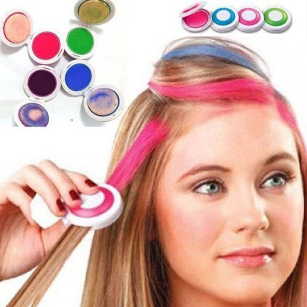Amazon Magideal 4 Pcs Hair Chalk Temporary Soft Pastel Colour