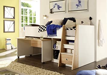 Soppalco Stanza Da Letto : Arthauss kids highmore soppalco camera da letto a soppalco letto