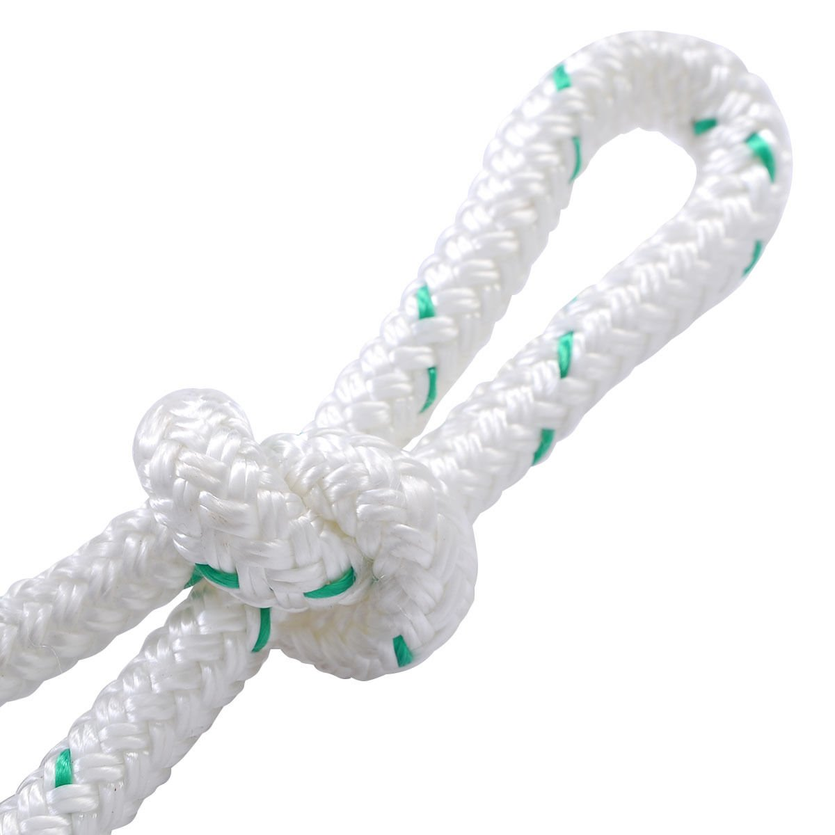 White TL31089 Giantex 3//7 X 150/' Double Braid Polyester Rope Sling 5900lbs Breaking Strength Climbing Ropes