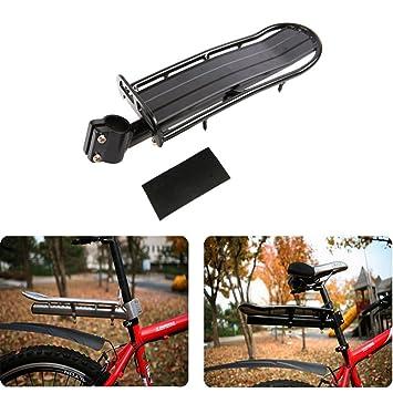 Portaequipajes trasero para bicicleta. Accesorios para ...
