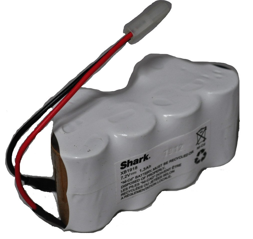 Genuine Shark 7.2V NiMH Battery XB1918; For Shark V1950 & VX3 - OEM Battery . Use genuine OEM parts for optimal performance of your vacuum.