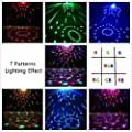 Sound Activated Disco Lights-NIUBIER 3w Disco Ball Party Lights led Music Atctivated Strobe Lights for Home Room Dance Parties DJ Lightshow for Birthday Club Karaoke Wedding Decorations
