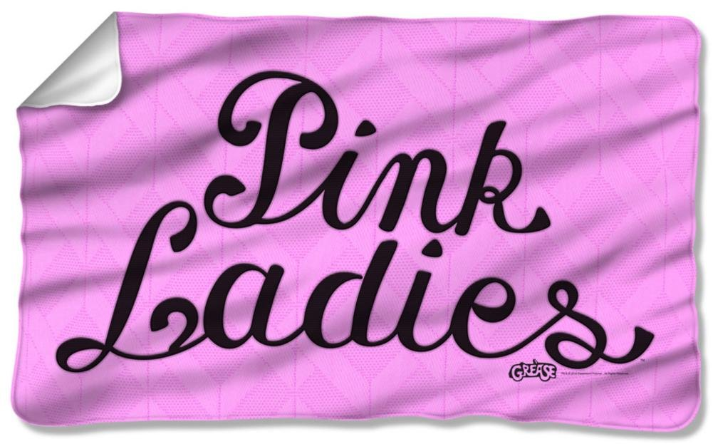 Grease - Pink Ladies Fleece Blanket 57 x 35in